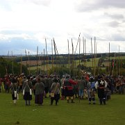 Units of The Sealed Knot re-enacting the 1646 Battle of Stow