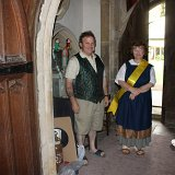 Helpers at thd Country Fayre in St Edward's Church