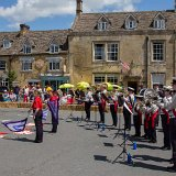Gloster Gladiators marching band