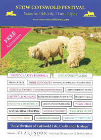 2017 programme for Stow Cotswold Festival